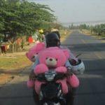 transport à moto frontiere cambodgienne