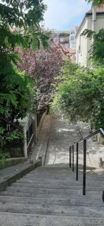 escalier menant campagne paris